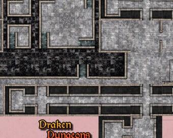 Draken Dungeons   Dark Realms Tiles  917