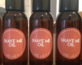 Shave Me Natural Shaving Oil