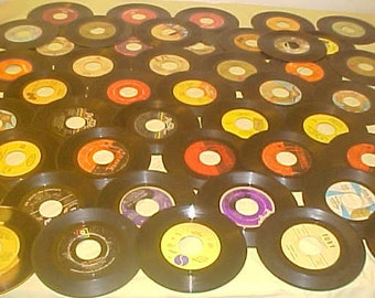 "45 RPM lot of 45 vintage 70s Vinyl 7"" Records Funk Northern  Soul etc"