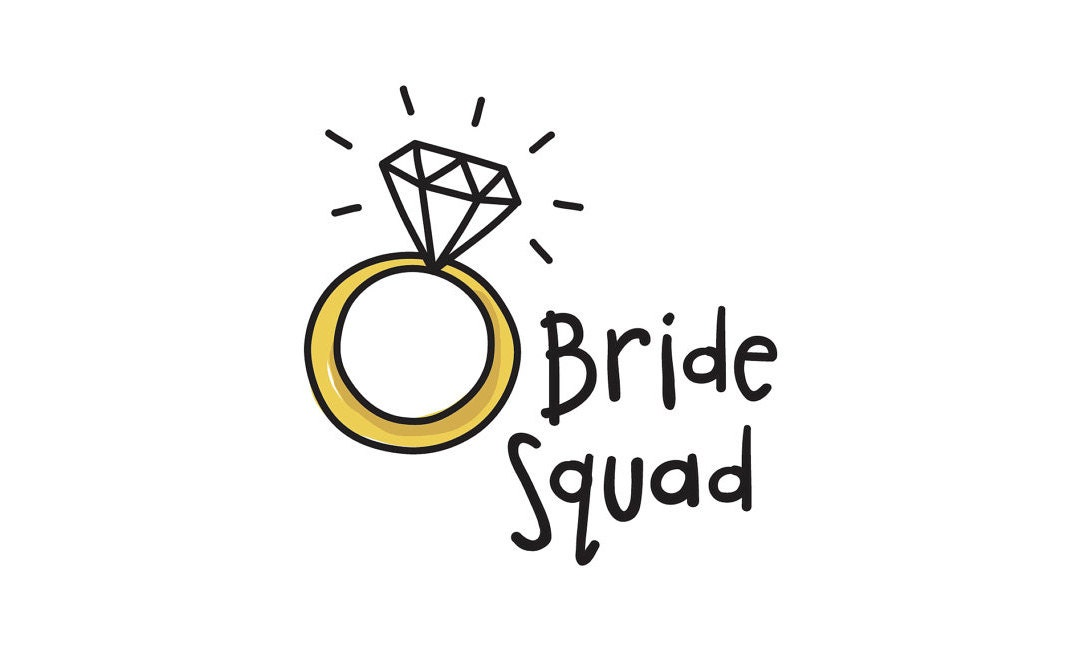 Bride Squad Bachelorette Party tattoos Economy Pack Save