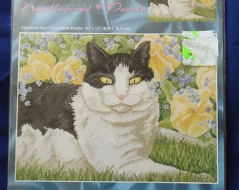 "Needlepoint kit   12""x16"" (kit #15)"