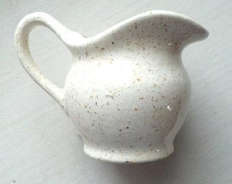 Small Cream Vessel