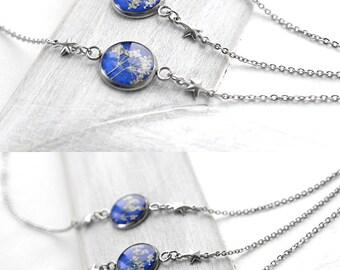 Royal blue bracelet for bridesmaid gifts Bridal bracelet for bride gift for wedding bracelets set Star bracelet for women sky bracelets gift