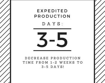 Expedited Processing, Decreases Production Time