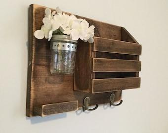 Mail organizer/ key holder