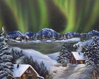 """Art Card - """"Home"""""""