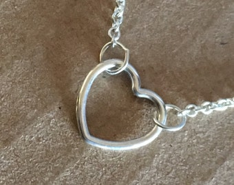 Reese's heart necklace