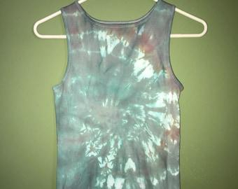Girls Faded Tie Dye Tank