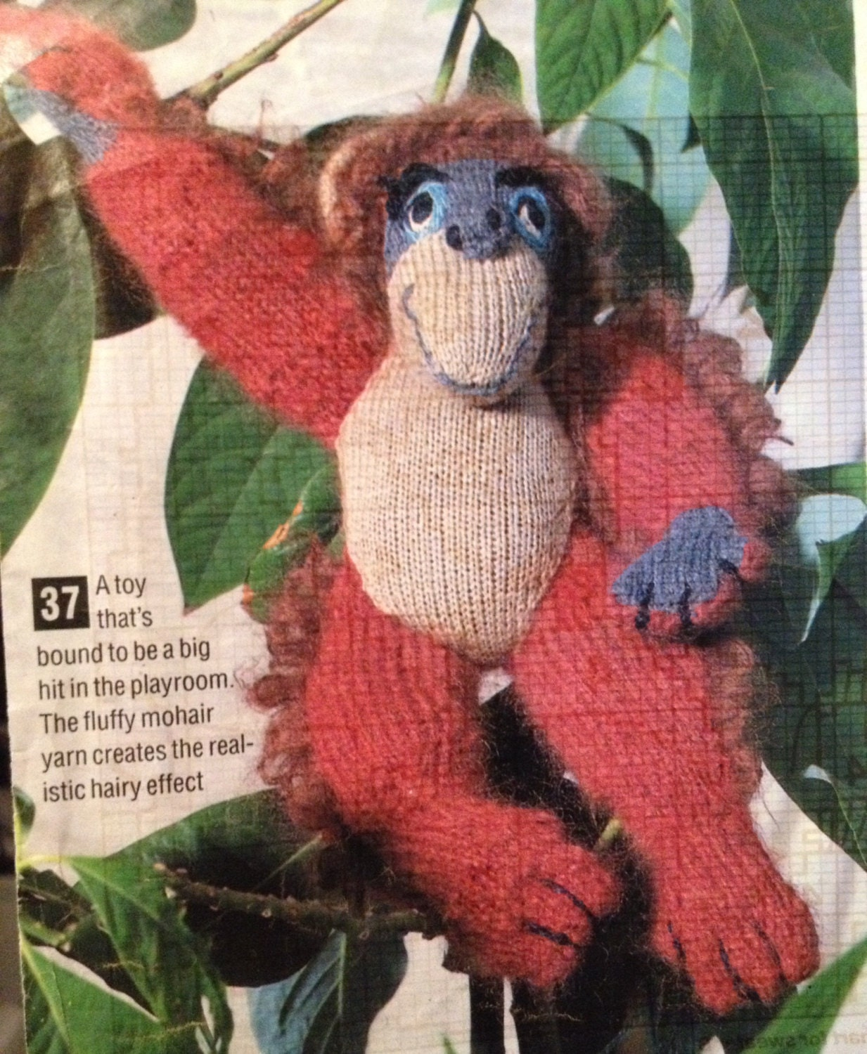 Monkey Business Toy Knitting Pattern