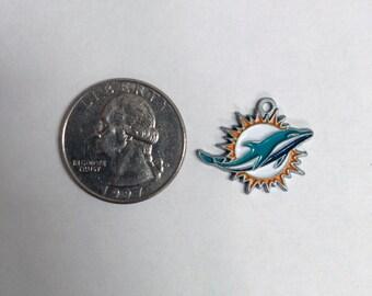 Miami Dolphins NFL Logo Charm