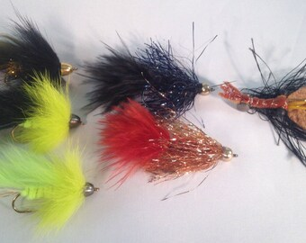 Juicy Trout Streamer Assortment - Flies for Fly Fishing - 6 Flies