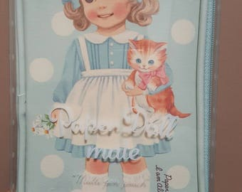 New! Paper Doll Mate Pen Pouch by Afrocat