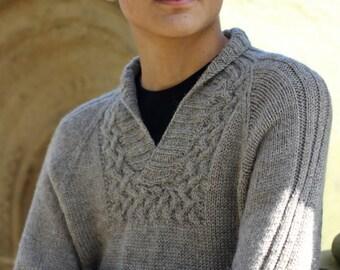 Knitting patterns, Dovestone Natural Aran, Dovestone Natural Aran Collection from Baa Ram Ewe