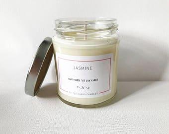 Jasmine - Handmade soy wax candle
