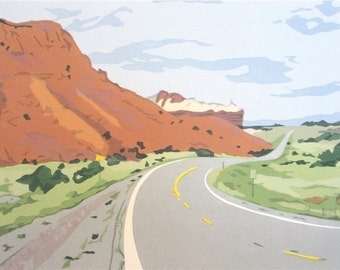 Road to Ghost Ranch