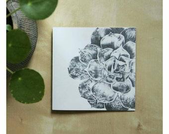 Succulent card 2