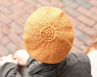 Sporting Beret (knitting pattern)