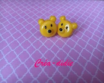Winnie macarons earrings