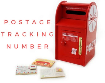 Tracking number for your parcel as an extra service