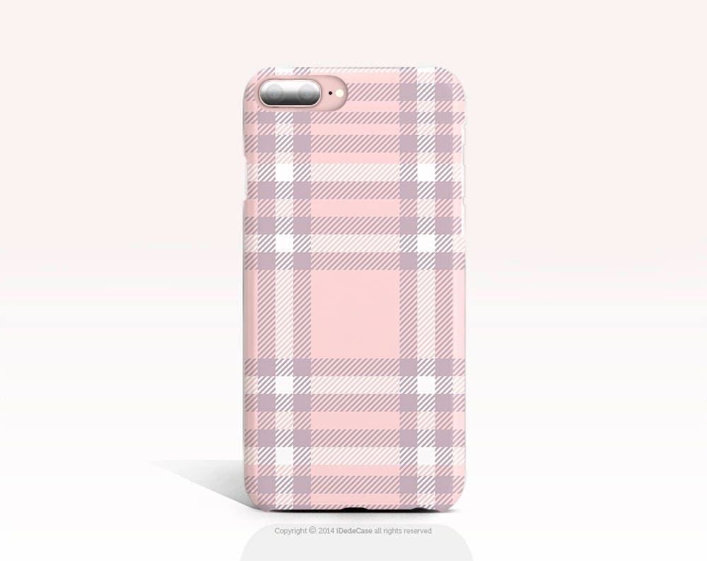 tartan iphone 8 case