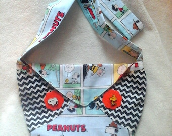 Peanuts inspired purse