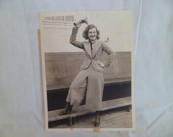 Hollywood Photo Lilian Harvey 1933 International News Photo