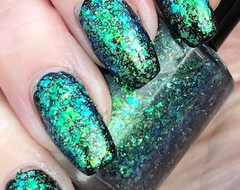 Future  multichrome flakie nail polish