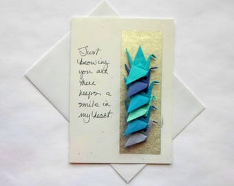 Every Occasion Card,Friendship Greeting Cards,Encouraging Greeting Cards,Paper Art Cards,Origami Greeting Card,Art Greeting Cards
