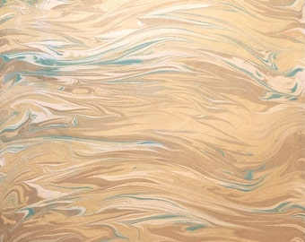 Marble Paper 2015-8 for bookbinding or scrapbookingprojects on 50x70cm biscuit construction paper 120g / sqm
