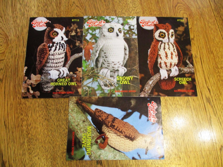 Pájaros de un pluma - búho tucúquere, lechuza, buho de Screech ...