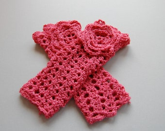 Teaparty Fingerless Gloves - Ready to ship