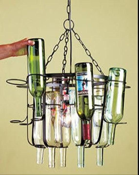 Weinflasche Kronleuchter Kit