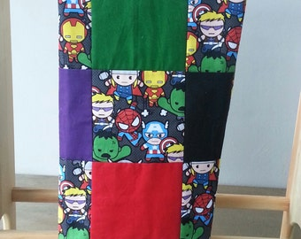 Baby Avengers Tummy Time Quilt