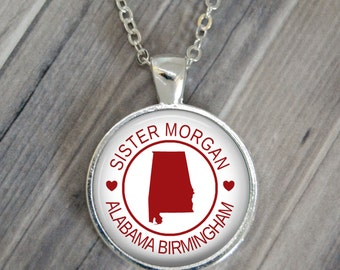 CUSTOM Missionary necklace or keychain. Several options. Many colors. Gift. Called to serve. Missionary Mom. Missionary Dad. Missionary.