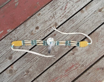 Native Design Traditional Choker - Abalone