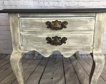 Refinished End Table Or Night Stand