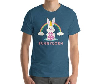 Bunnycorn - easter bunny shirt - happy easter - easter bunny gift - easter bunny tee - gift easter - easter gift idea - easter rabbit