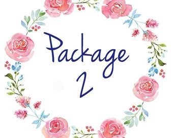 Party Decorations Package, Party Decor, Customizable Themed