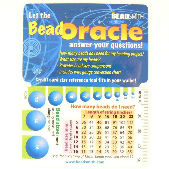 Bead Oracle quick reference card