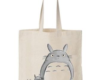 Tote bag Totoro
