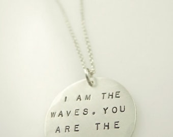 I am the Waves Necklace