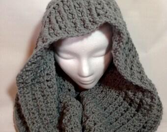 Hooded Cowl Shawl