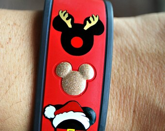 Holiday Character Magic Band Decal Christmas Hanakkuh