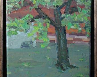 Tree (acrylic) 8x8