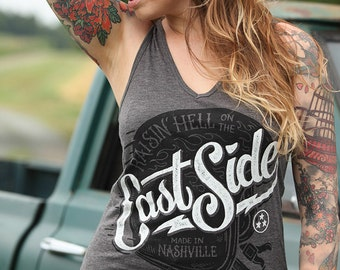 East Side - V-Neck Tank