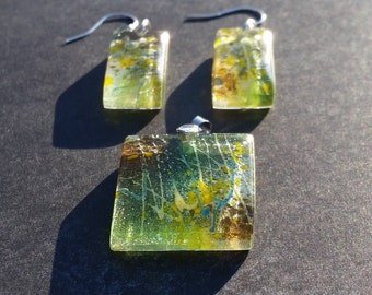 Fused Glass Set