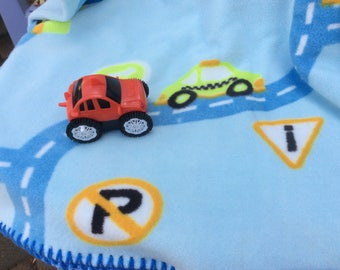 Boys and Cars Blanket