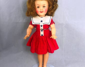 Vintage 1950s Shirley Temple St-12 All Original Vinyl Doll