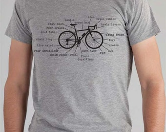 Bicycle Parts Custom Bicycle Clothing Cycling Jersey Custom Hand Screen Printed Available: S M L Xl Color Options