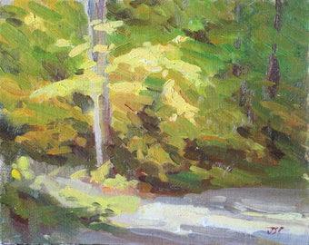 Impressionist Painting Original Art Impressionist Landscape Impressionist Light Beautiful Trees Realist Art Impressionist Art Impressionism